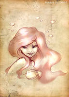 Mermaid in Parchment by mree