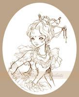Royalty of Sobri eLan - BW by mree