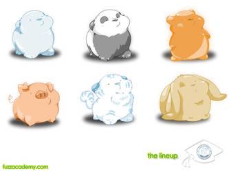Fuzz Academy - The Lineup by mree