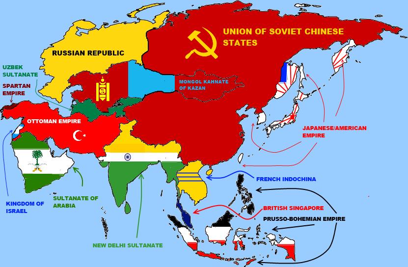 my alternate map asia by bartokassualtdude94