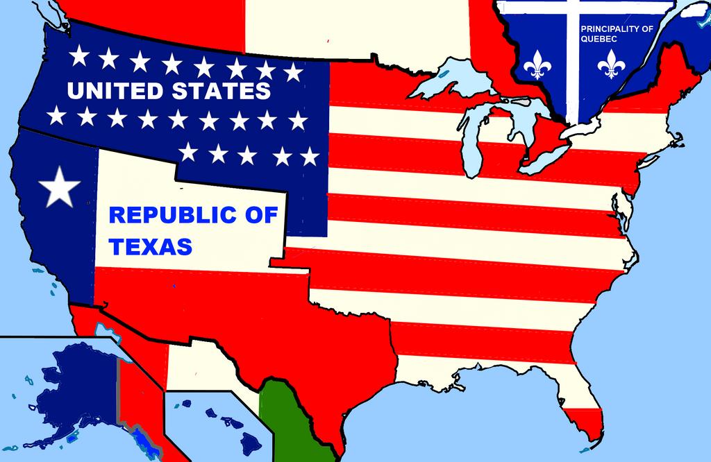 My Alternate USA Map By Bartokassualtdude On DeviantArt - Alternate us map