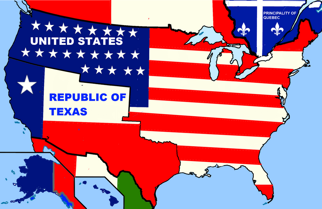 My Alternate Usa Map By Bartokassualtdude94 On Deviantart - Alternate-us-map