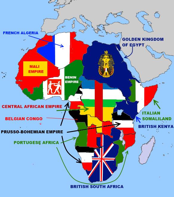 My Alternate Map Africa by Bartokassualtdude94 on DeviantArt
