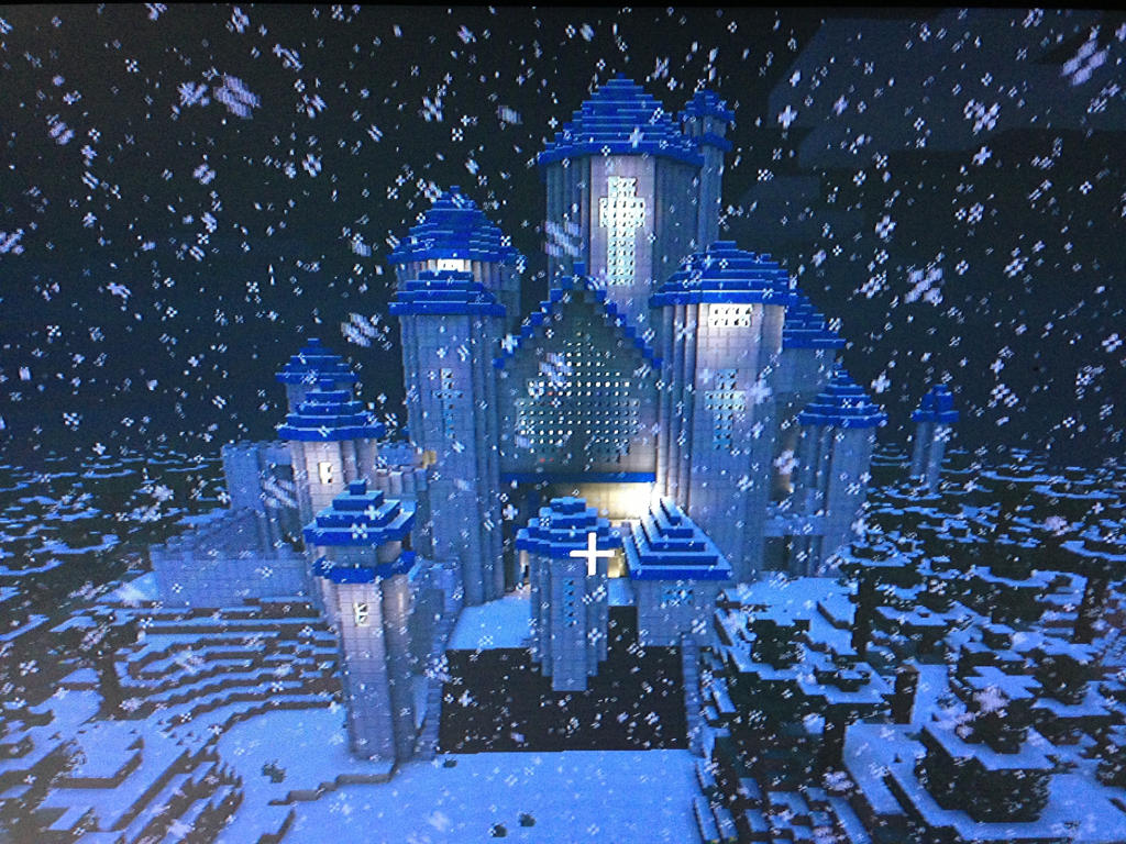 Must see Wallpaper Minecraft Winter - castle_in_the_snow_by_everesshiawind-d5snha4  2018_234115.jpg