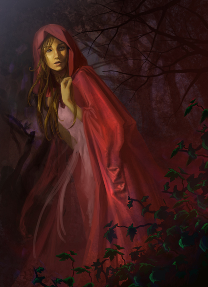 Red Riding Hood by Mariana-Vieira