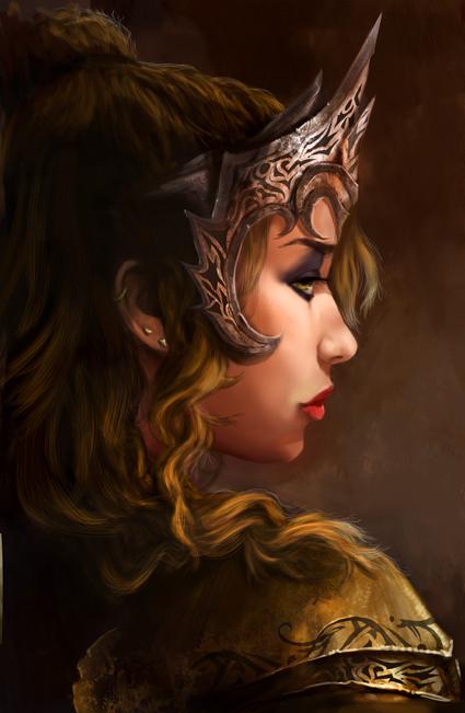 The Queen by Mariana-Vieira