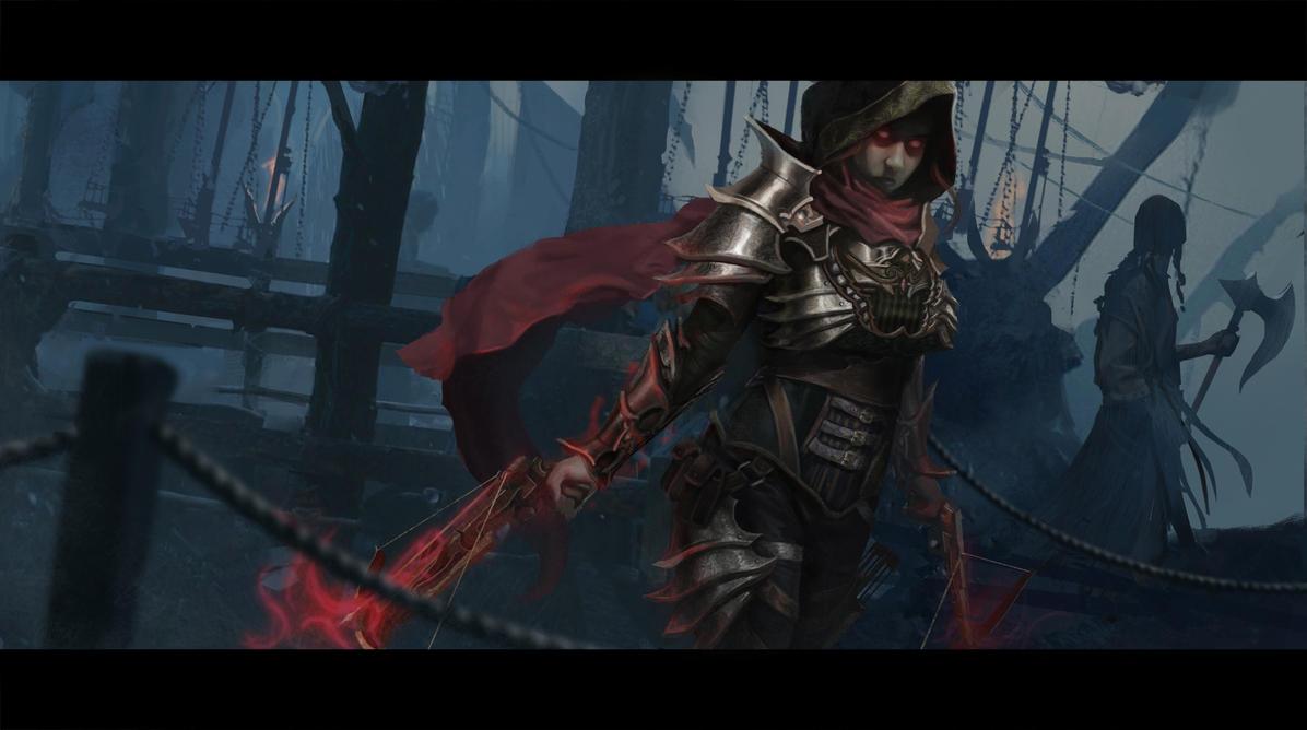 Demon Hunter by Mariana-Vieira