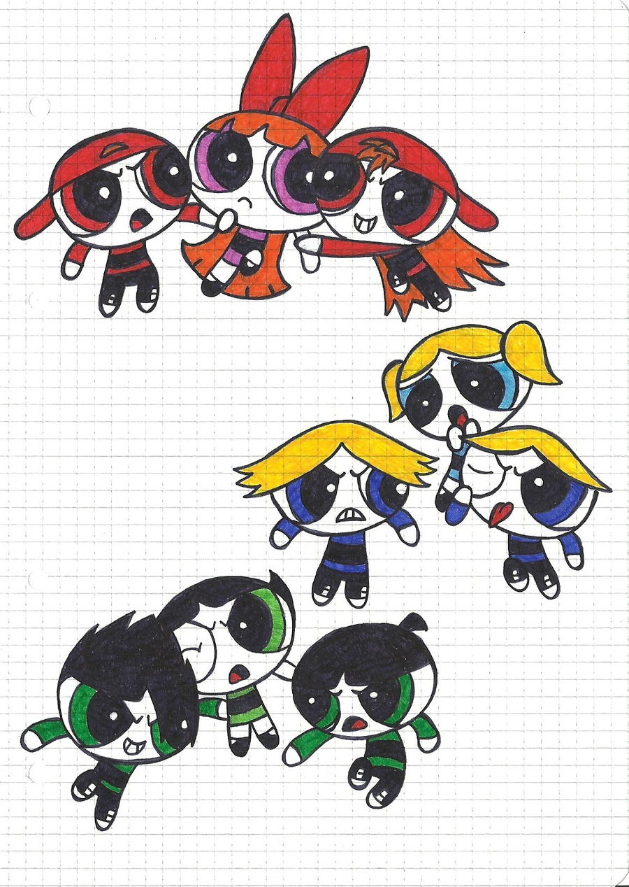 PPG x RRkB vs RRB by DarkBane95