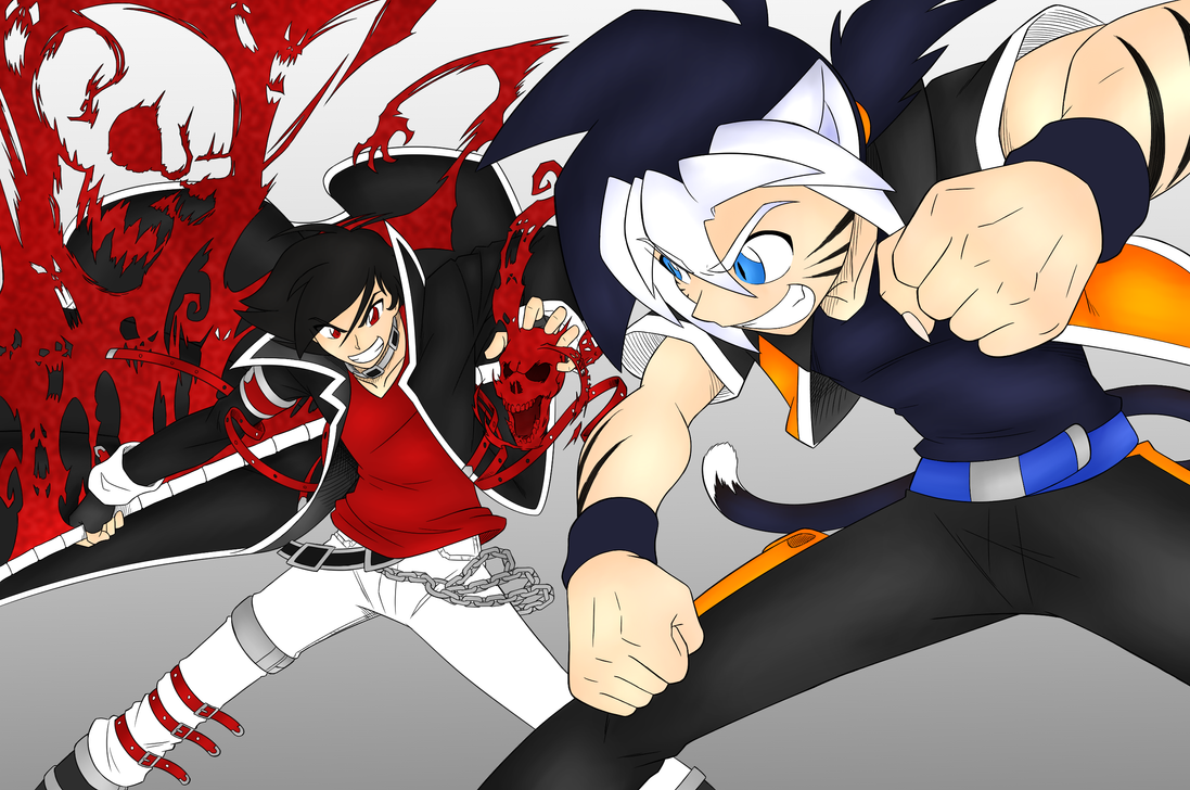 Bane vs Senji by DarkBane95