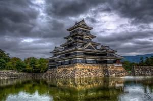 Matsumoto Castle by mib4art