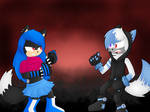 :PCOMM: Showdown by Umbral-Calamity