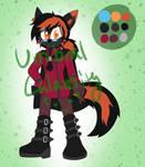 :CLOSED: Melanistic fox adopt by Umbral-Calamity