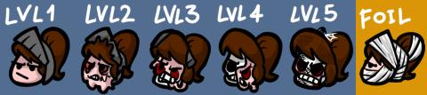 SnS Steam Badges progression by LeatherIceCream