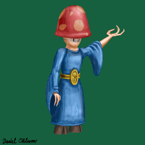 Shroomish Sorceror Concept