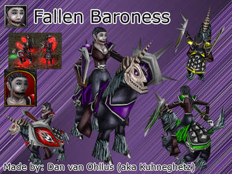 The Fallen Baroness by Kuhneghetz