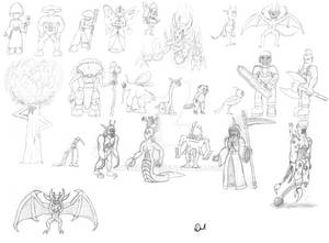 Random Sketch Fest