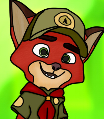 kid Nick Wilde by carloscraft27