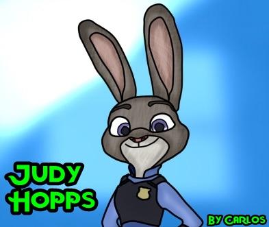 Judy Hopps V2 by carloscraft27