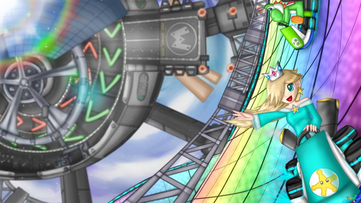 Mario Kart 8 Rainbow Road By Termfox7 On Deviantart