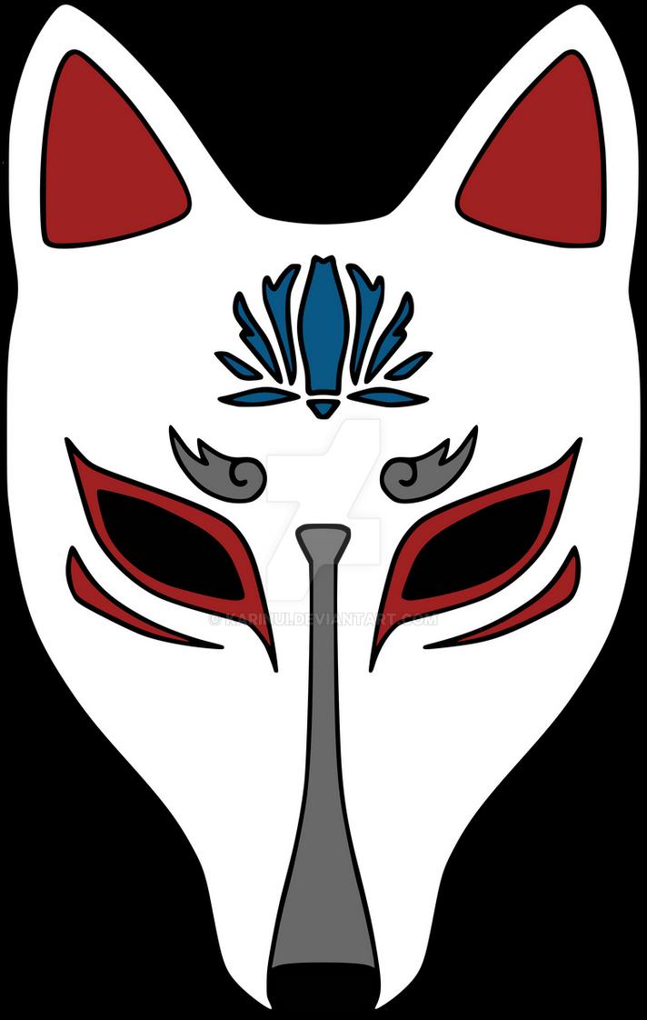TBK Logo - Kitsune Mask By Karinui On DeviantArt