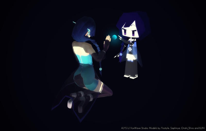 [ALYS] Let's meet in a dream [MinimALYSt] by Karinui