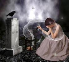 The Bridal Widow by CaryAndFrankArts