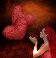 Happy Valentine!! by CaryAndFrankArts