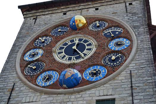 Zimmer Tower (clock), Lier, Belgium
