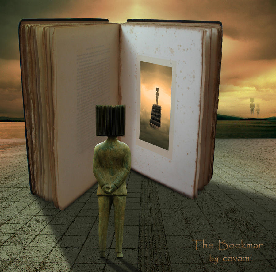 The Bookman (2) by CaryAndFrankArts