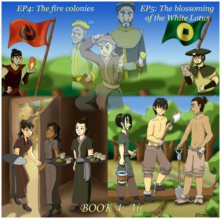 Avatar Book 2: Air EP 4 And 5 By Bizmarck On DeviantArt