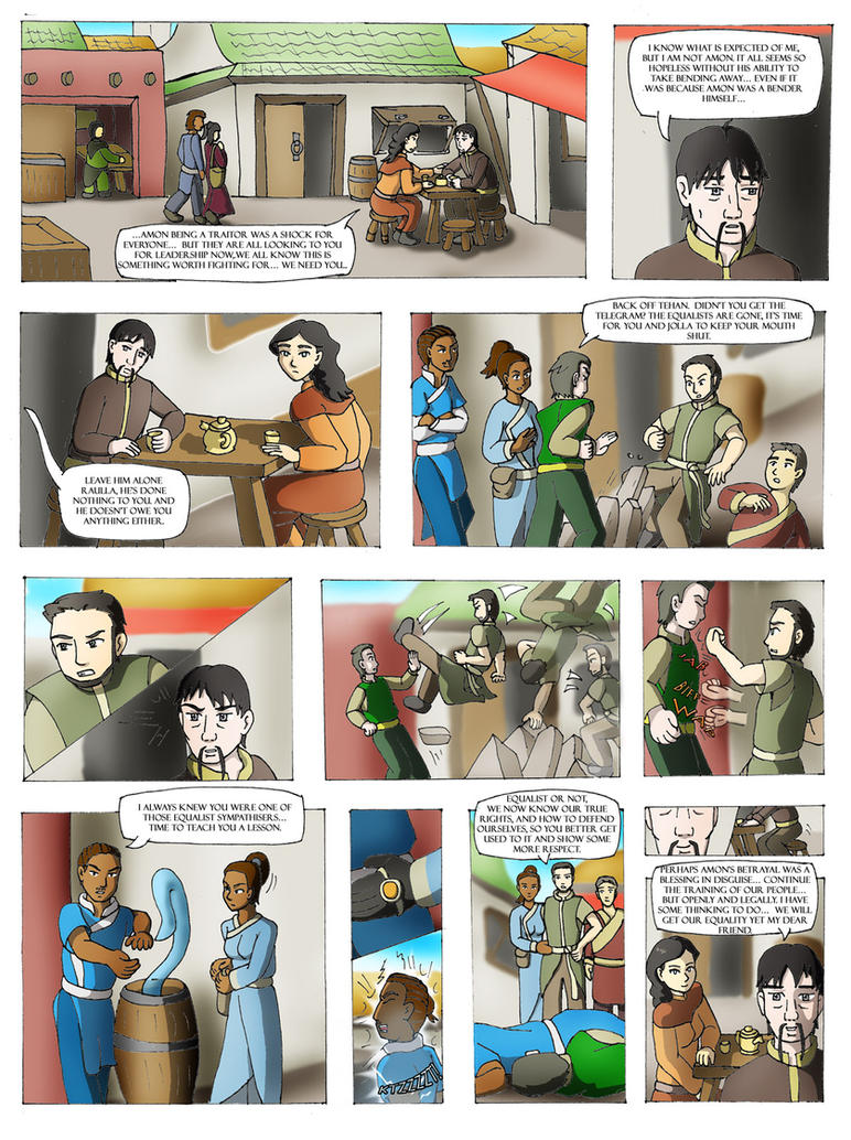 Korra: Equalists will live on by Bizmarck