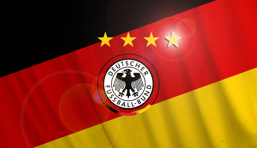 Deutschland 2014 WM der vierte Stern by Bizmarck