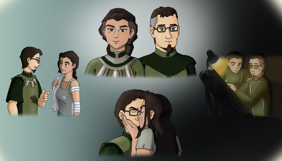 Kuvira and Bataar Jr. from Avatar Korra by Bizmarck