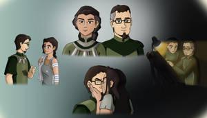 Kuvira and Bataar Jr. from Avatar Korra