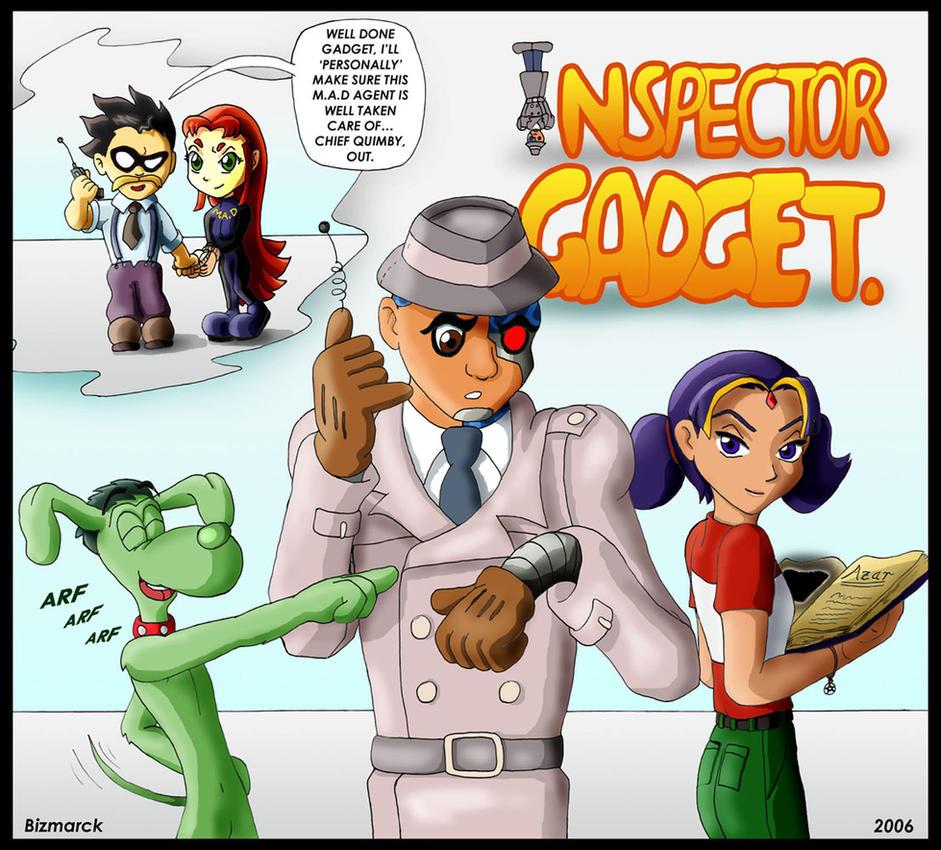 Inspector Gadget Penny Fan Art