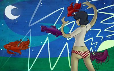 Star Fish by turtlegirlman