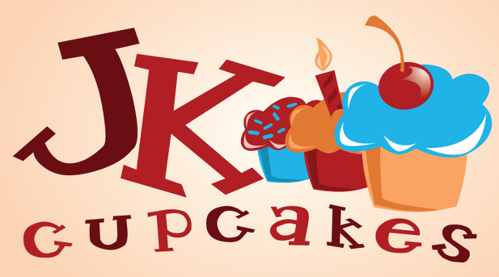 JK Cupcakes Logo 1 by turtlegirlman