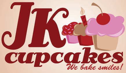 JK Cupcakes Logo 3 by turtlegirlman