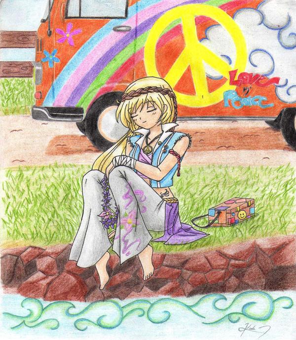 Hippie Girl... by yuzuki-min on DeviantArt