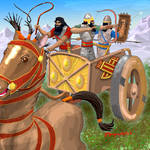032619AssyrianChariot by Dragonforge