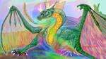072320DragonInColorWallpaper by Dragonforge