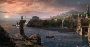 Atlantis. The last sunrise