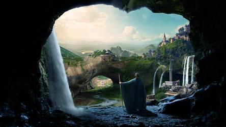 Return to the waterfalls land by batkya