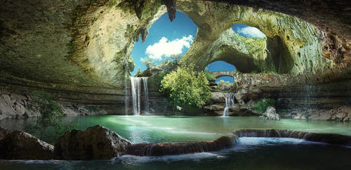 Sanctuary Grotto by batkya