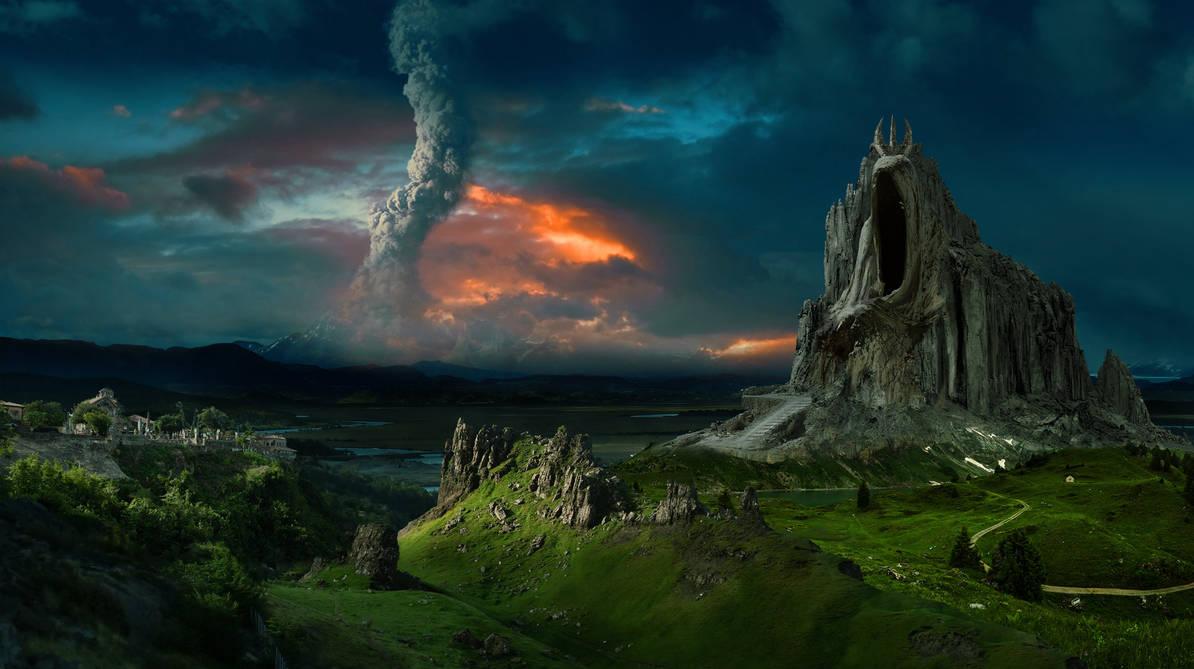 Lone Mountain by batkya