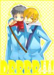 DRRR: Mikado + Kida