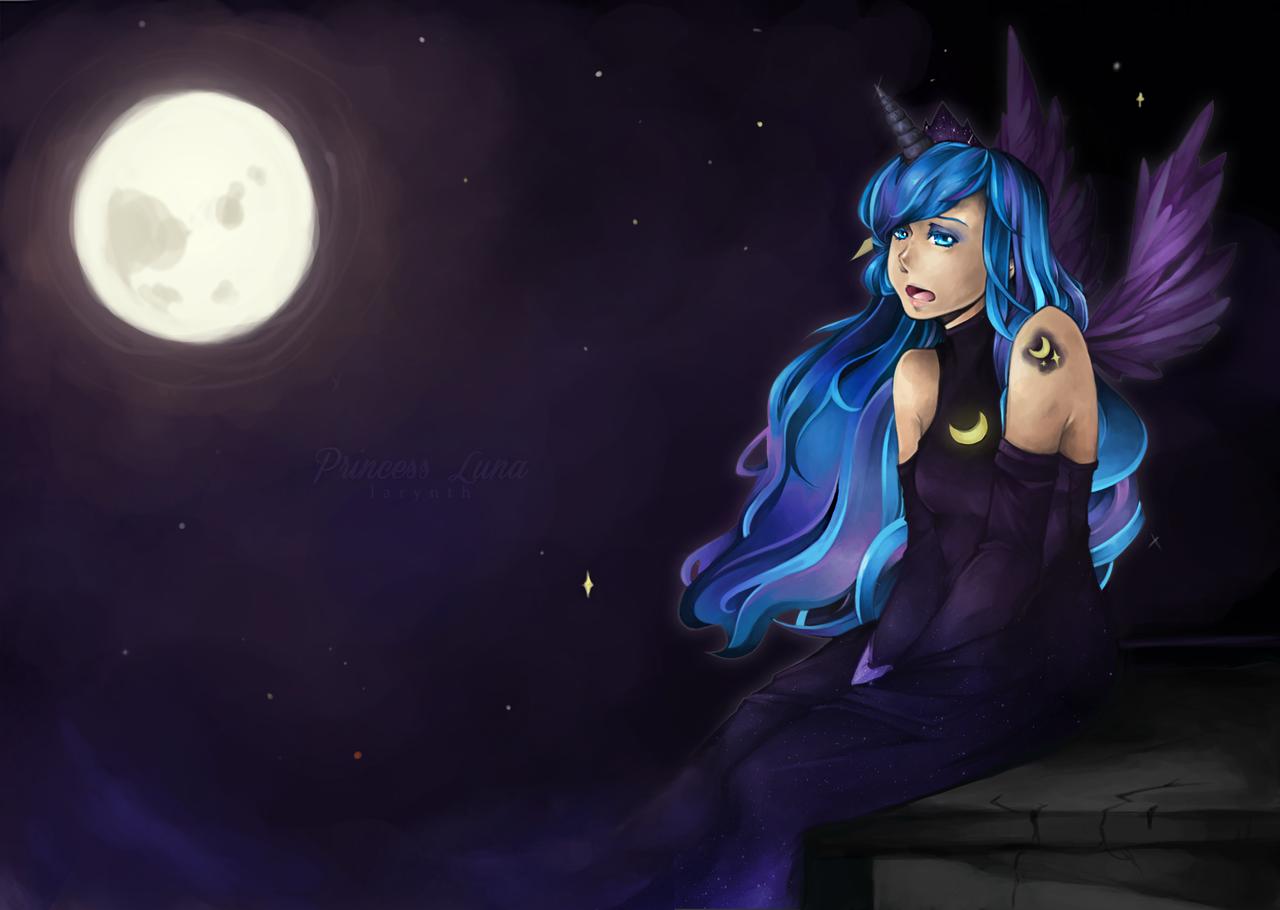 MLP: Princess Luna by larynth