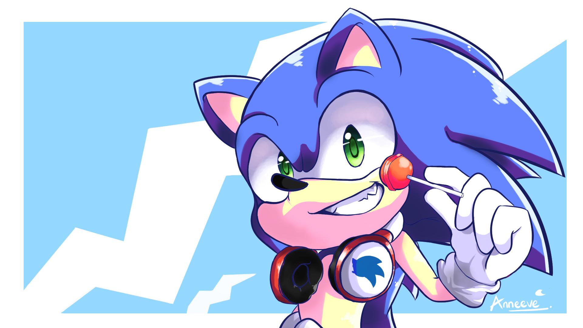 Sonic The Hedgehog Fanart By Anneeve On Deviantart