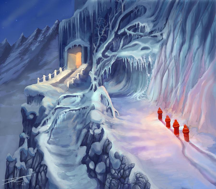 Pilgrimage of the Enlightened by Nemca