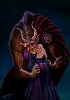 Beauty And The Beast by Nemca